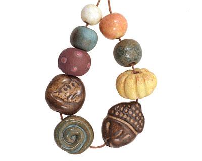 Gaea Ceramic Fall Acorn Bundle