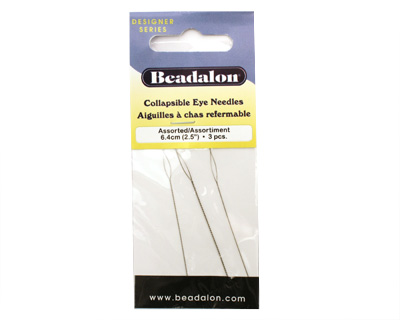 Beadalon Collapsible Assorted Beading Needles