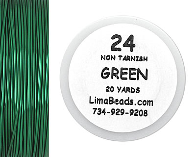 Parawire Green 24 Gauge, 20 Yards