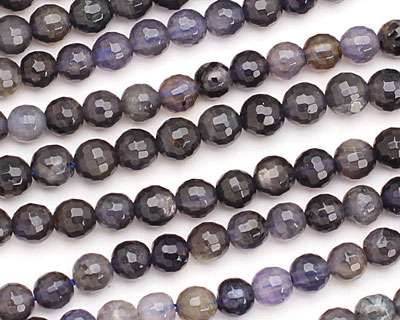 Iolite Faceted Round 6mm