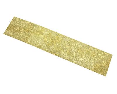 Organic Patterned Brass Strip 2.5