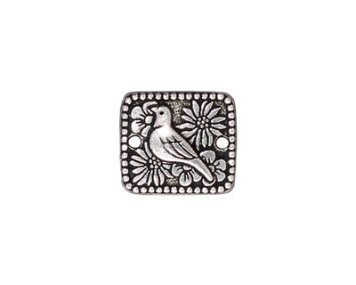 TierraCast Antique Silver (plated) Paloma Link 16x14mm