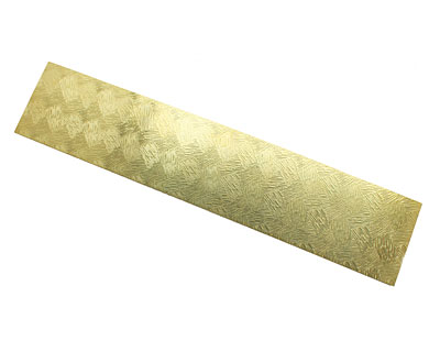 Hay Patterned Brass Strip 2.5