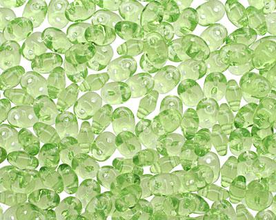 Olivine SuperDuo 2x5mm Seed Bead