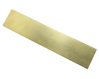 Scales Patterned Brass Strip 2.5