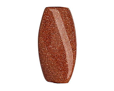 Goldstone Twisted Pillow 30x15mm