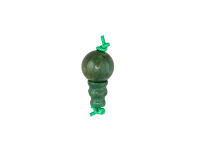 Canadian Jade Round Guru Bead 10mm