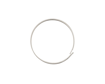 Sterling Silver Hoop Earwire 3/4