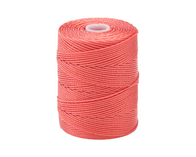 C-Lon Chinese Coral (.5mm) Bead Cord