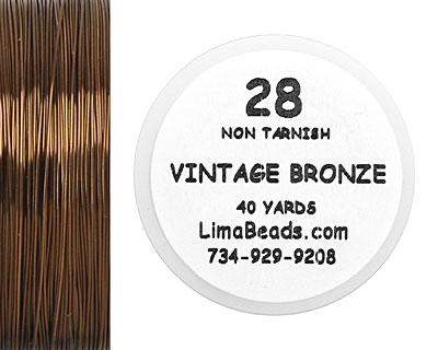 Parawire Vintage Bronze 28 Gauge, 40 Yards