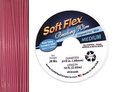 Soft Flex Pink Tourmaline .019