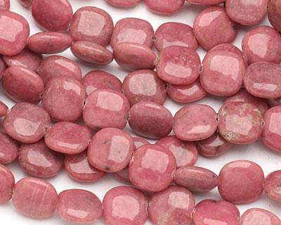 Rhodonite Puff Square 14mm