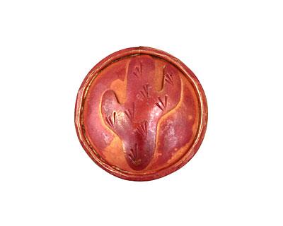 Patricia Healey Copper Cactus Button 24mm