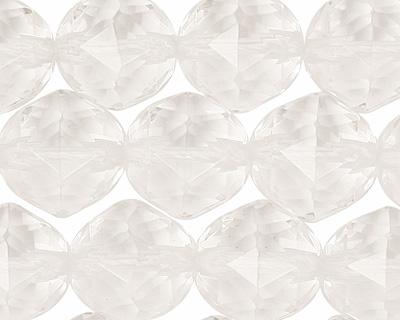 Rock Crystal Star Cut Round 12mm