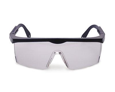Safety Glasses w/ Adjustable Blue Frame