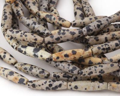 Dalmatian Jasper Rice 20x5mm