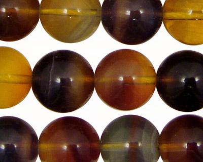 Argentina Rainbow Fluorite Round 14mm