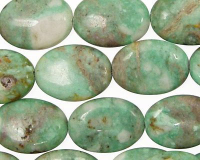 Variscite Flat Oval 18x13mm