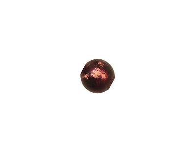 Missficklemedia Patinated Violet Smooth Round 8mm