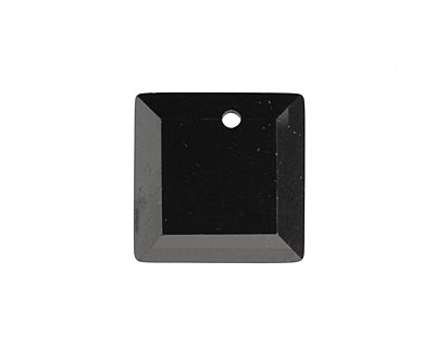 Onyx Faceted Square 18mm