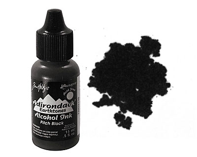 Adirondack Pitch Black Alcohol Ink 15ml
