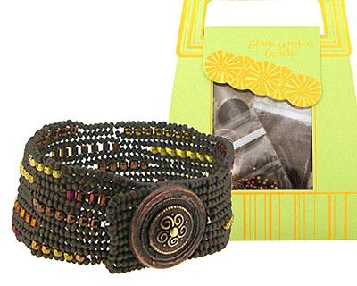 Glass Garden Suede Ndebele Bracelet Kit