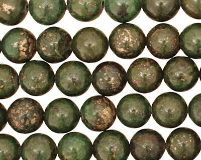 Green Chalcopyrite Round 10mm