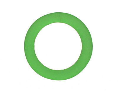 Shamrock Recycled Glass Ring 27mm