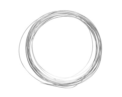 Soft Flex Non-Tarnish Silver Half Round Craft Wire 18 gauge, 4 yards