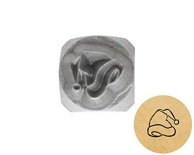 Santa Hat Metal Stamp 5mm