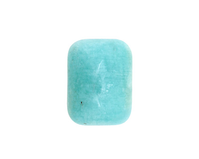 Peruvian Amazonite Rectangle Cabochon 20x15mm