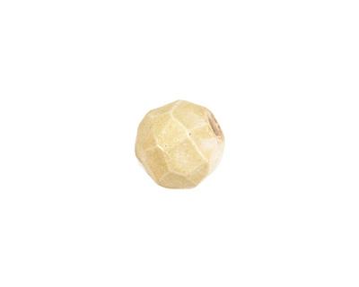 Gaea Ceramic Butter Geode Round 15-17x18-19mm
