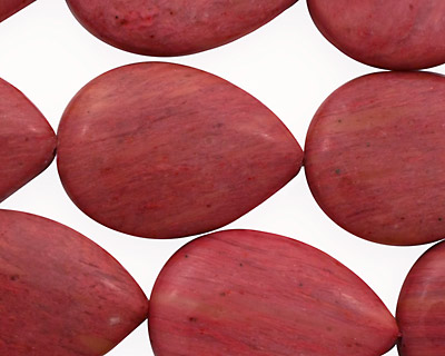 Rainbow Rhodonite Flat Teardrop 30x20mm