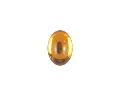 Nunn Design Amber Glass Oval 10x14mm