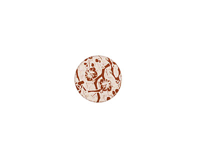 Lillypilly Bronze Cherry Blossom Anodized Aluminum Disc 11mm, 24 gauge