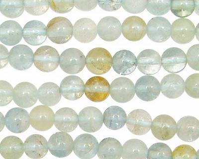 Aquamarine (A - multi) Round 6mm