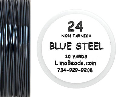 Parawire Blue Steel 24 Gauge, 10 Yards