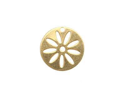 Brass Round Flower Stencil 16mm