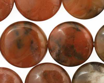Chalcedite Puff Coin 20mm