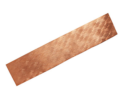 Dancing Flames Patterned Copper Strip 2.5