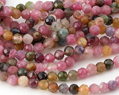 Tourmaline Faceted Round 5mm