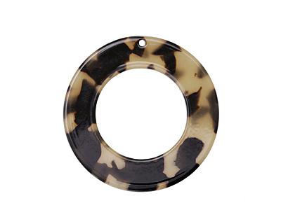 Light Tortoise Shell Acetate Donut 27mm
