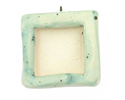 Jangles Ceramic Robin's Egg (matte) Square Bezel 28-29x31-32mm