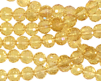 Jonquil AB Crystal Micro-Faceted Round 6mm