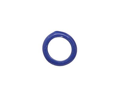 Trinket Foundry Opaque Cobalt Mini Glass Bottle Ring 9-13mm