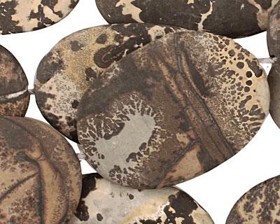 Artistic Stone (matte) Flat Freeform Slab 36-49x25-30mm