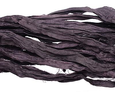 Raven 100% Silk Sari Ribbon