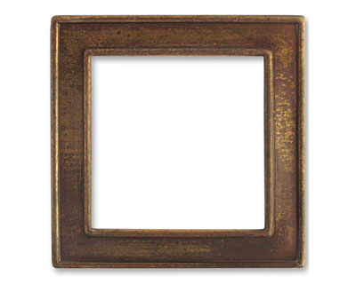 Vintaj Natural Brass Window Frame 45mm