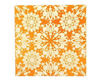 Lillypilly Orange Kaleidoscope Anodized Aluminum Sheet 3