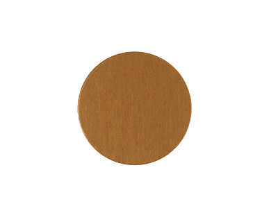 Lillypilly Bronze Anodized Aluminum Disc 19mm, 24 gauge